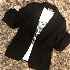 H&M women's black  blazer size small